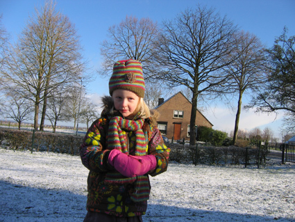 winter spelletjes buiten
